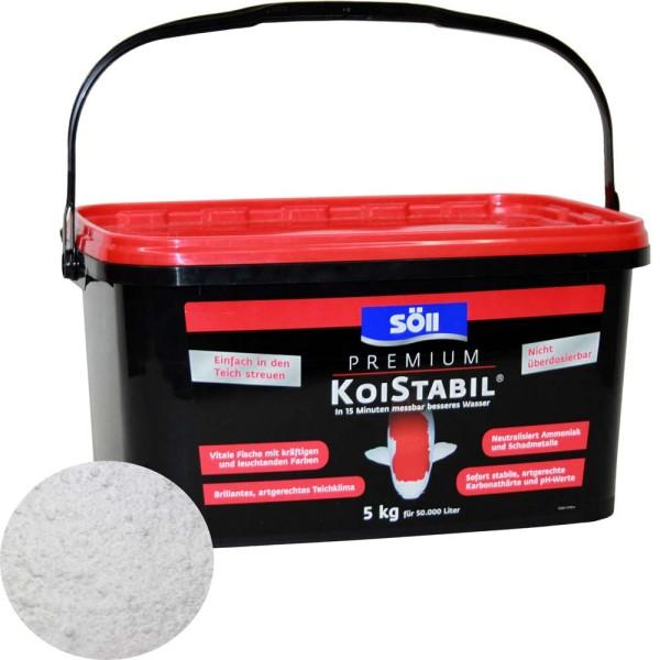 SöLL Koistabil Premium Wasseraufbereiter 5kg - 4021028155400 | © by gartenteiche-fockenberg.de