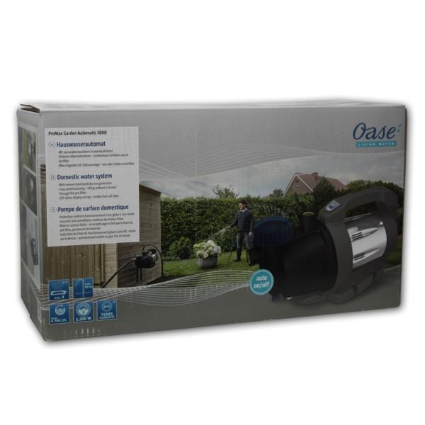 OASE ProMax Garden Automatic 5000 Gartenpumpe - 4010052431277 | © by gartenteiche-fockenberg.de