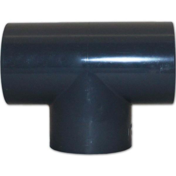 PVC T-Stück 90°, Ø 63mm - 8717605080154 | © by gartenteiche-fockenberg.de