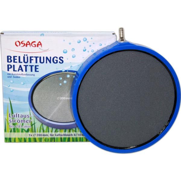 OSAGA Belüftungsplatte Ø 200mm