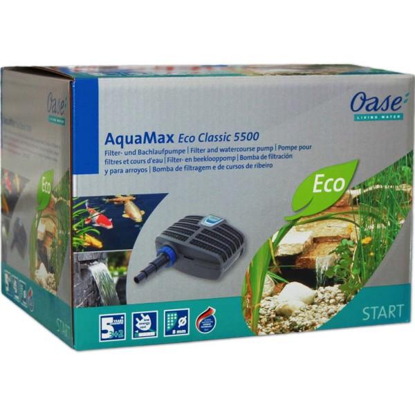 Oase AquaMax Eco CLASSIC 5500 Teichpumpe - 4010052510965 | © by gartenteiche-fockenberg.de