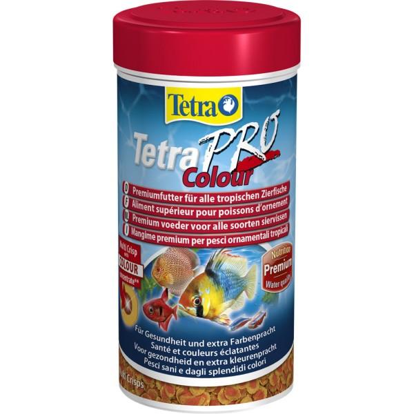 TETRA Pro Colour Multi Crisps 250 ml Zierfischfutter - 4004218140462 | by gartenteiche-fockenberg.de