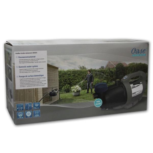 OASE ProMax Garden Automatic 6000/5 Gartenpumpe - 4010052431284 | © by gartenteiche-fockenberg.de