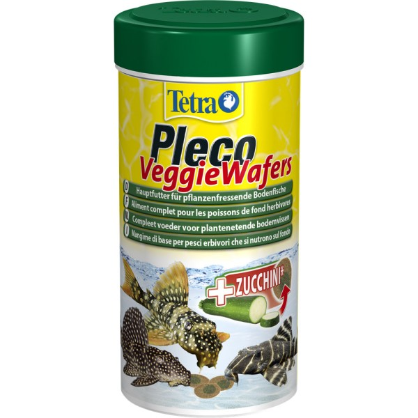 TETRA Pleco Veggie Wafers 250 ml Zierfischfutter - 4004218151239 | by gartenteiche-fockenberg.de