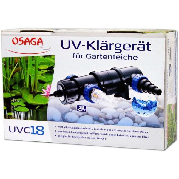 Osaga UV-Klärgerät UVC 18 - 4250247608842 | © by gartenteiche-fockenberg.de