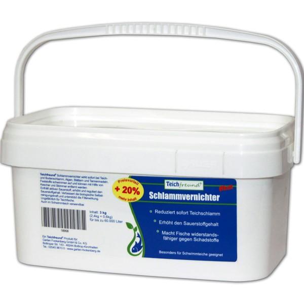 Teichfreund® Premium Schlammvernichter akut 3kg | © by gartenteiche-fockenberg.de