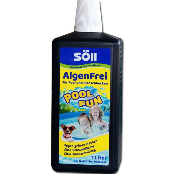 SöLL AlgenFrei Pool Fun 1000ml - 4021028311301 | © by gartenteiche-fockenberg.de