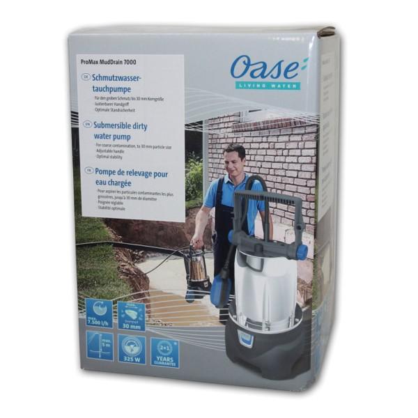 OASE ProMax MudDrain 7000 Schmutzwasser-Tauchpumpe - 4010052422664 | by gartenteiche-fockenberg.de