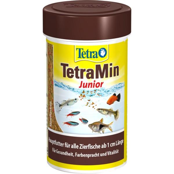 TETRA TetraMin Junior Fischfutter 100ml - 4004218764798 | © by gartenteiche-fockenberg.de