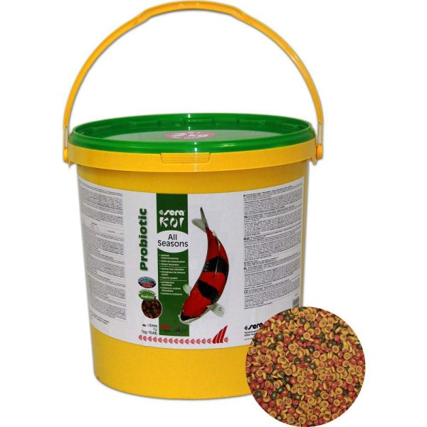 Sera Koi All Seasons Probiotic Koifutter 7kg - 4001942444576 | © by gartenteiche-fockenberg.de