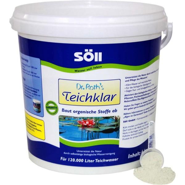 SöLL Dr. Roth's Teichklar Teichschlammentferner 6kg - 4021028100783 | © by gartenteiche-fockenberg.de