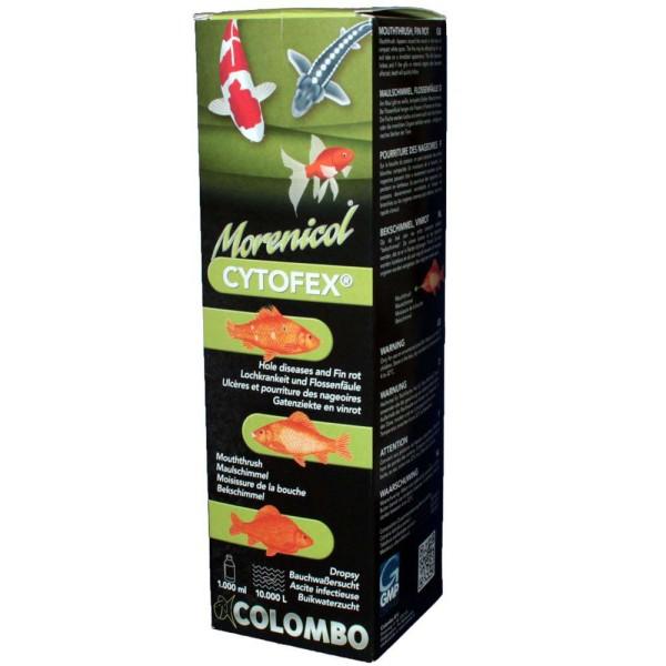 COLOMBO Morenicol Cytofex Fischmedizin 1L - 8715897025624 | © by gartenteiche-fockenberg.de