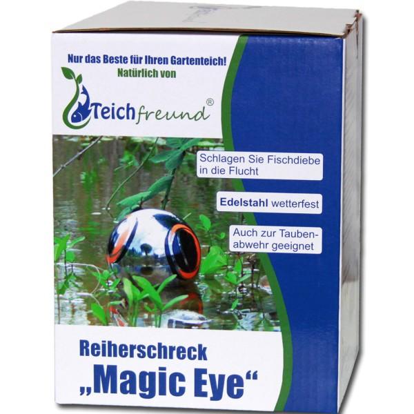 TEICHFREUND® Reiherschreck Magic Eye Teichschutz - 21173 | © by gartenteiche-fockenberg.de