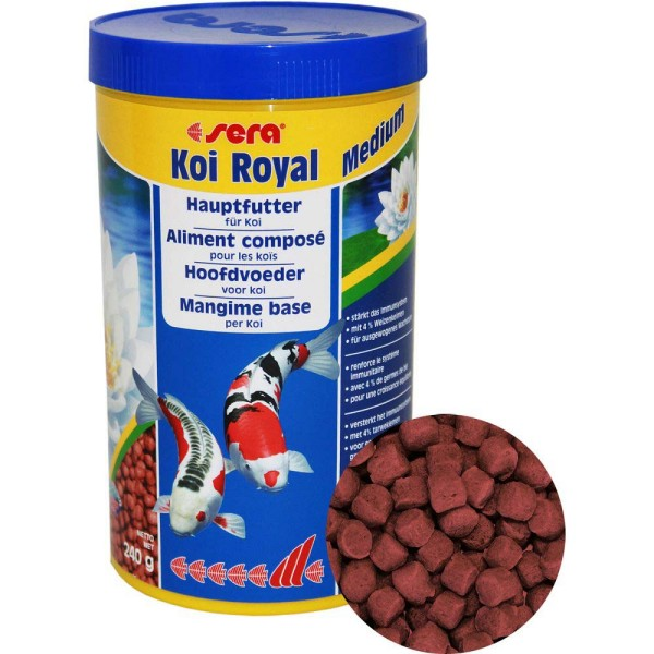 Sera Koi Royal Medium Koifutter 1000ml - 4001942071154 | © by gartenteiche-fockenberg.de