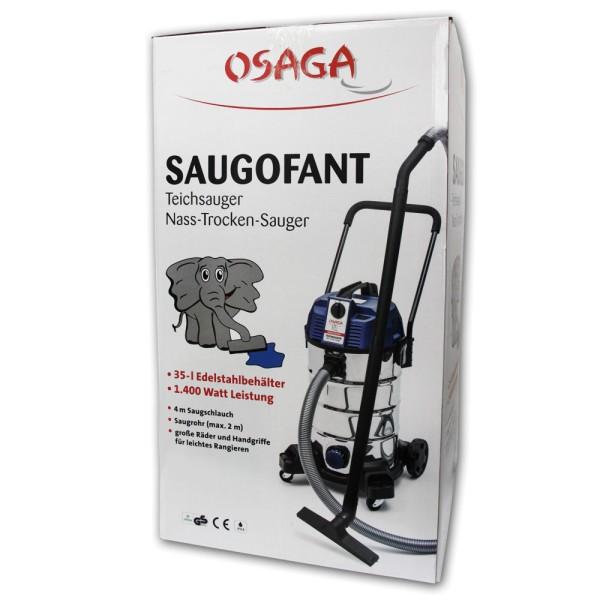 OSAGA Saugofant Teichsauger - 4250247609108 | © by gartenteiche-fockenberg.de