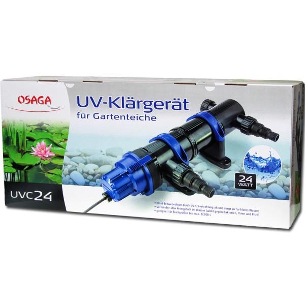 Osaga UV-Klärgerät UVC 24 Modell 2019 - 4250247609009 | © by gartenteiche-fockenberg.de