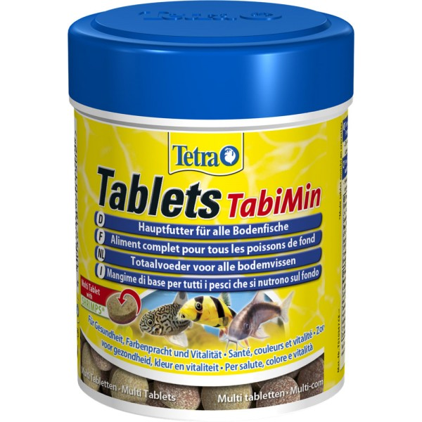 TETRA Tablets TabiMin 275 Tabl. Zierfischfutter - 4004218701502 | by gartenteiche-fockenberg.de