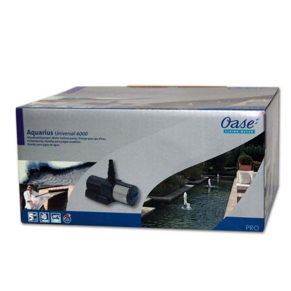 OASE Aquarius Universal Premium 6000 Wasserspielpumpe - 4010052566375 | © by gartenteiche-fockenberg.de